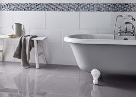 Ceramic Floor and Wall Tiles Bathroom