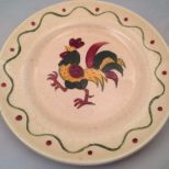 Vintage Metlox Poppytrail Rooster Set Of 2 And 14 Similar Items