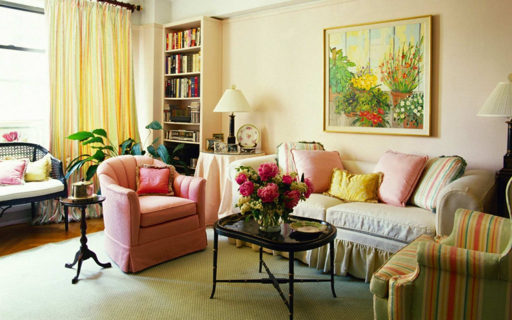 Want To Decorate The Living Room With Flowers Some Tips For You