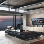 Waterfront Living Room 736 X 1102 Design House Design Living