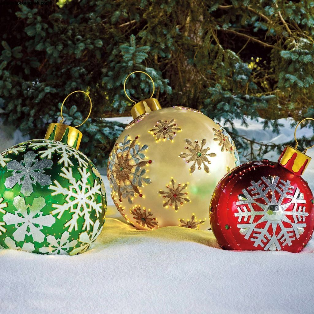 Where To Buy Large Outdoor Christmas Decorations Apartmanidolores