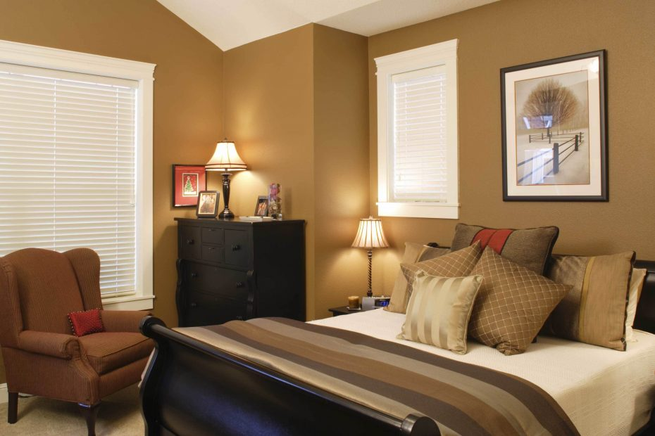 Which Paint Color Goes With Brown Furniture White And Camel Brown