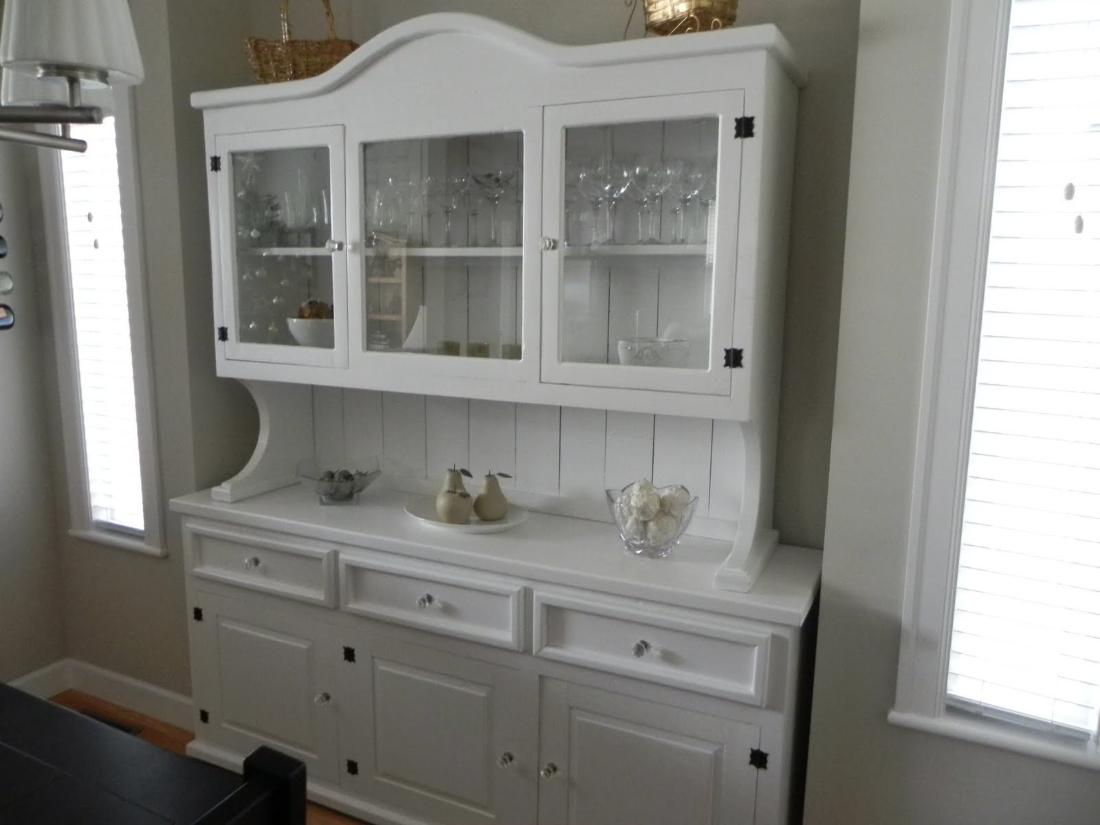 Image of: White Kitchen Hutch And Buffet Ideas The New Way Home Decor Layjao