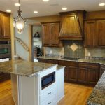 Poplar Stained Kitchen Cabinets