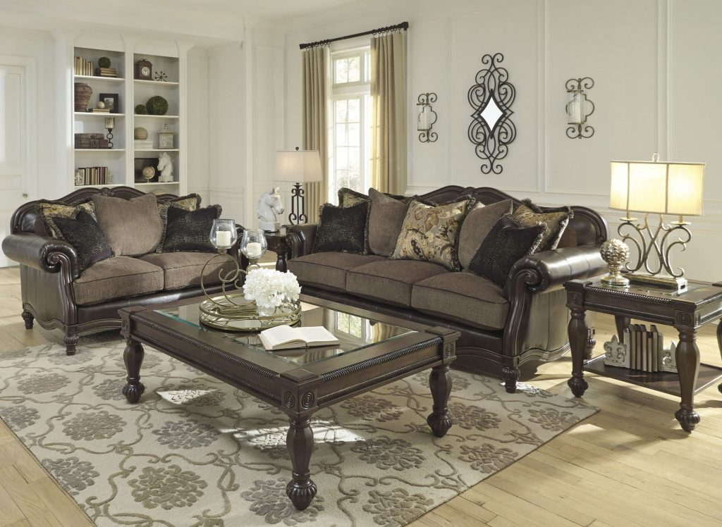 Winnsboro Durablend Vintage Living Room Set 1stopbedrooms