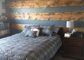 Wood Accent Wall Bedroom Designs