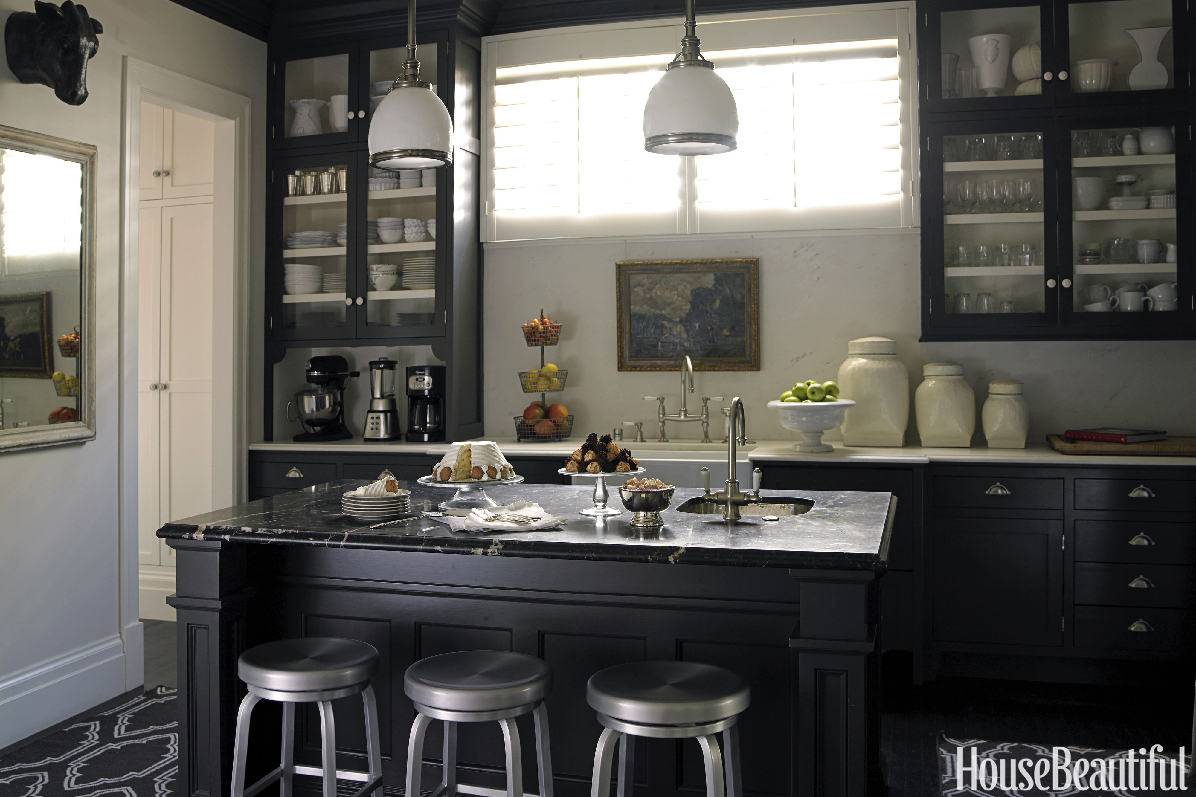 10 Black Kitchen Cabinet Ideas Black Cabinetry And Cupboards Layjao