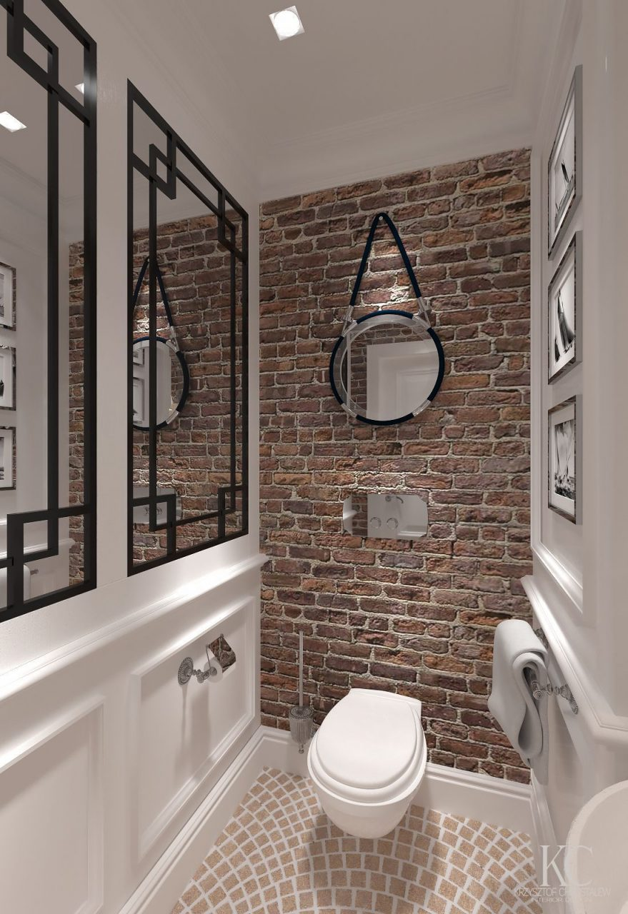 10 Exposed Brick Tiles Bathroom Design Ideas Bath Bathroom