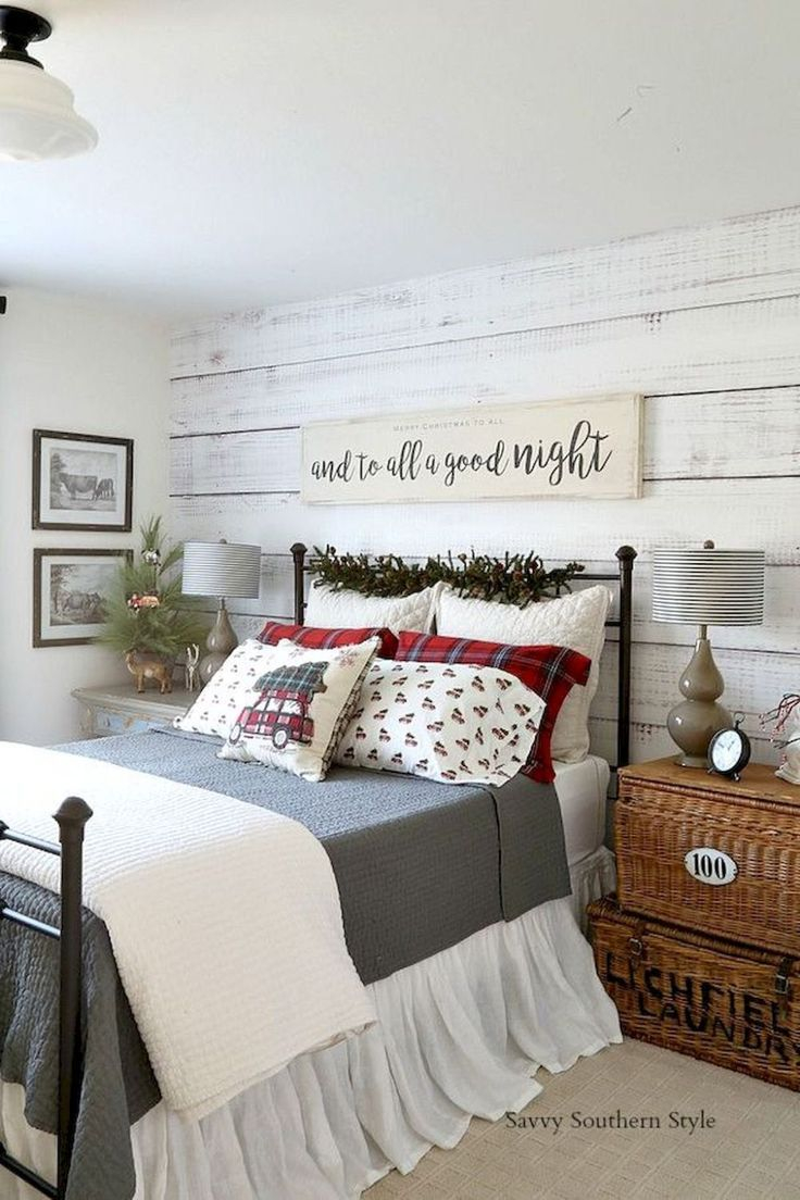 101 Modern Farmhouse Bedroom Decor Ideas Rustic Farmhouse Home
