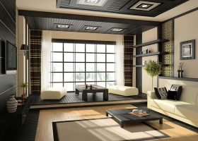 Japanese Interior Design Living Room