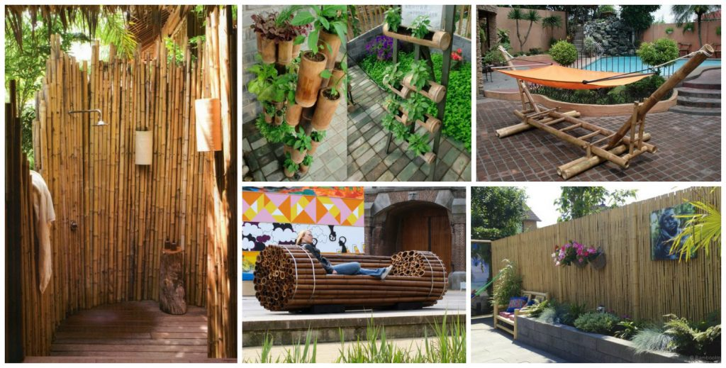 13 Diy Ideas How To Use Bamboo Creatively For Garden