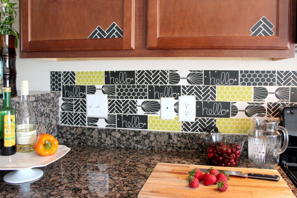 13 Removable Kitchen Backsplash Ideas