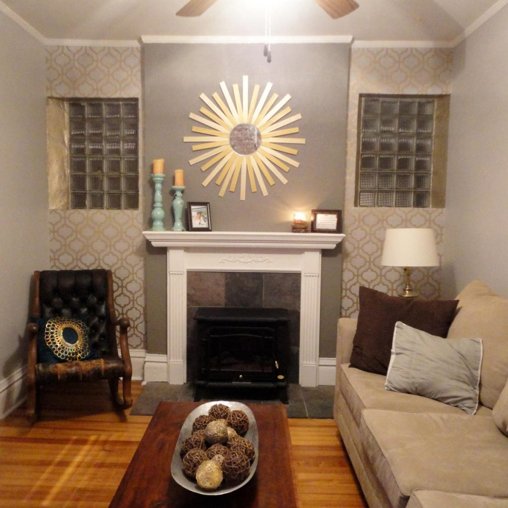 14 Ways To Embellish Your Home With Metallic Paint The Family Handyman