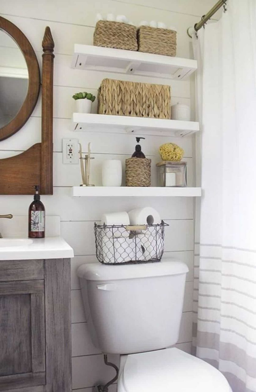 17 Awesome Small Bathroom Decorating Ideas Futurist Architecture