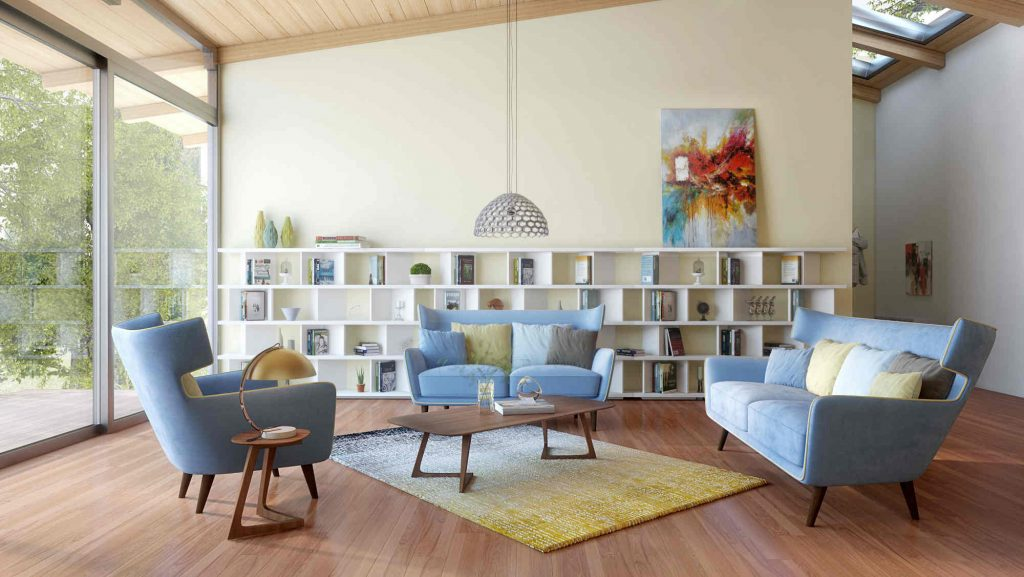 17 Beautiful Mid Century Modern Living Room Ideas Youll Love