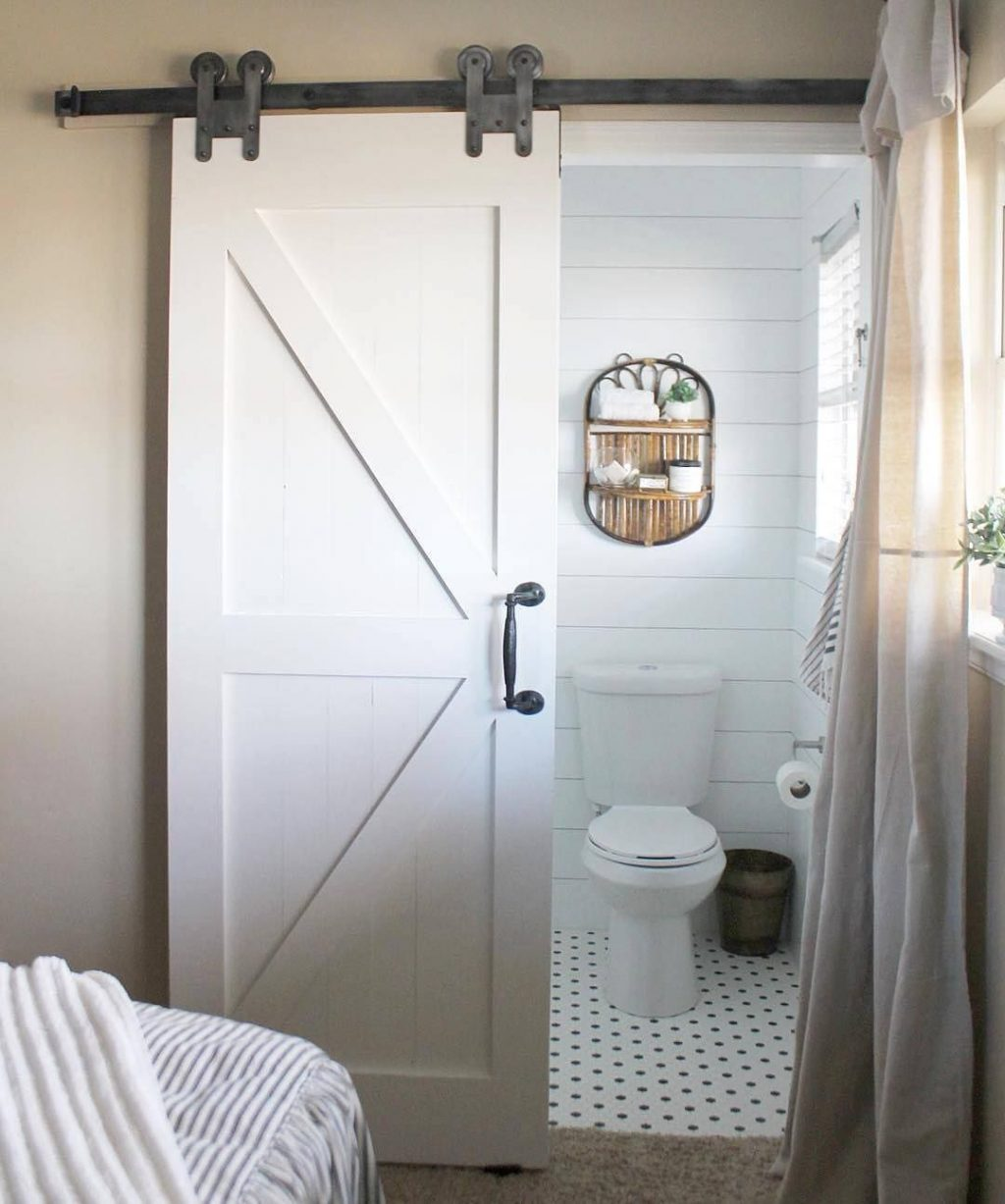 20 Bathroom Sliding Barn Door Awesome Sliding Doors For Bathroom