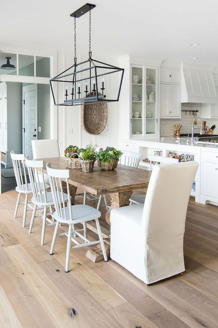 20 Cozy Modern Farmhouse Living Room Decor Ideas In 2019 Dining