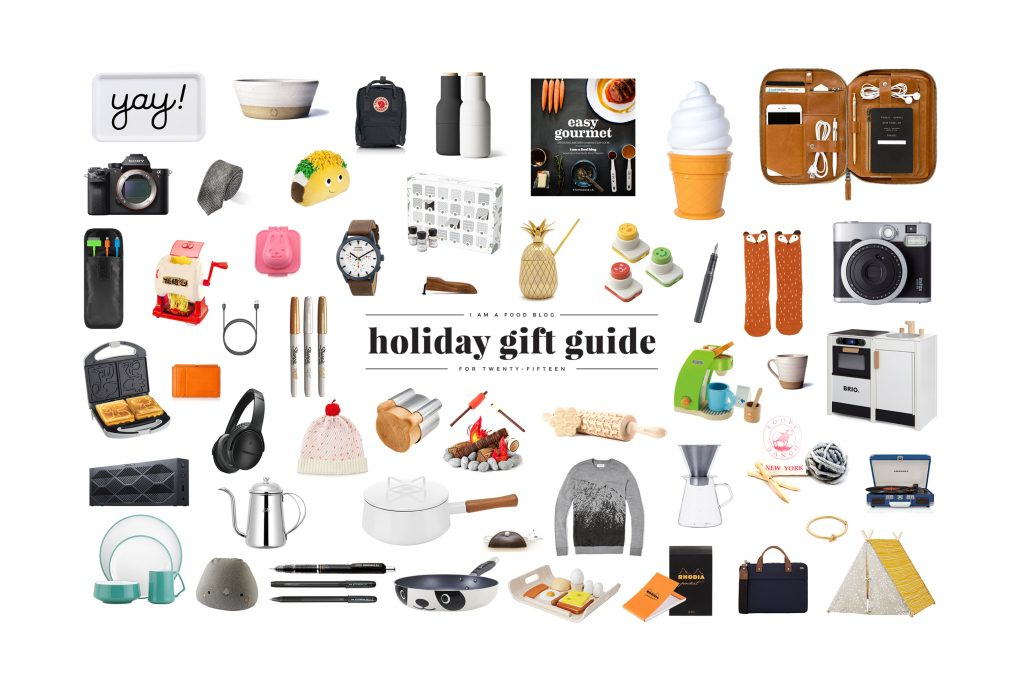 2015 Holiday Gift Guide I Am A Food Blog I Am A Food Blog