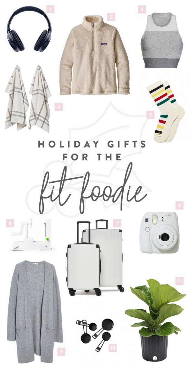 2018 Holiday Gift Guide Fit Foodie Finds