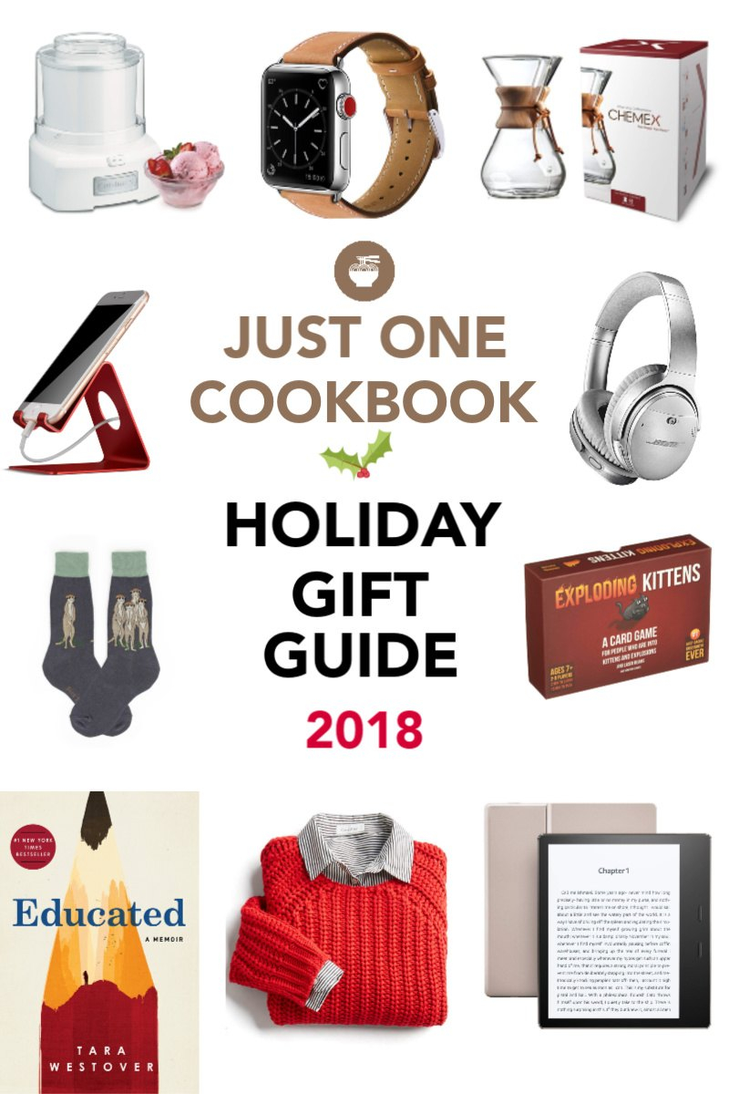 2018 Ultimate Holiday Gift Guide From The Joc Team Just One Cookbook