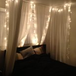 23 Amazing Canopies With String Lights Ideas Cozy Bedroom Decor