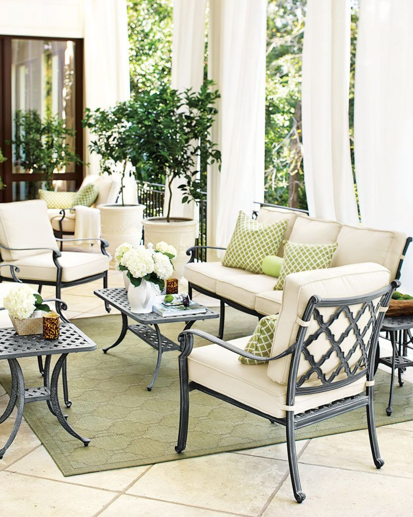 25 Dreamy Patios Pools And Porches Porches Porch Furniture