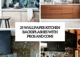 Wallpaper for Kitchens and Backsplash