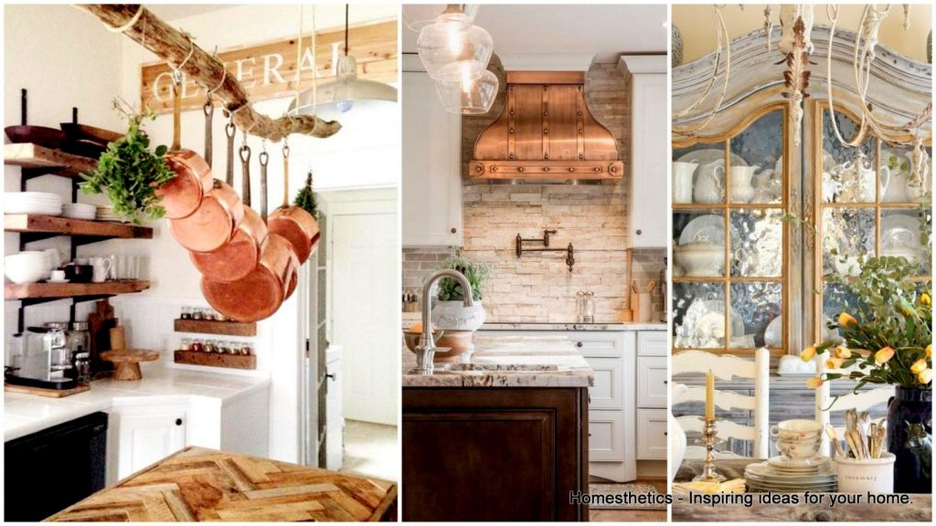 29 Ways To Materialize An Awe Inspiring French Country Kitchen