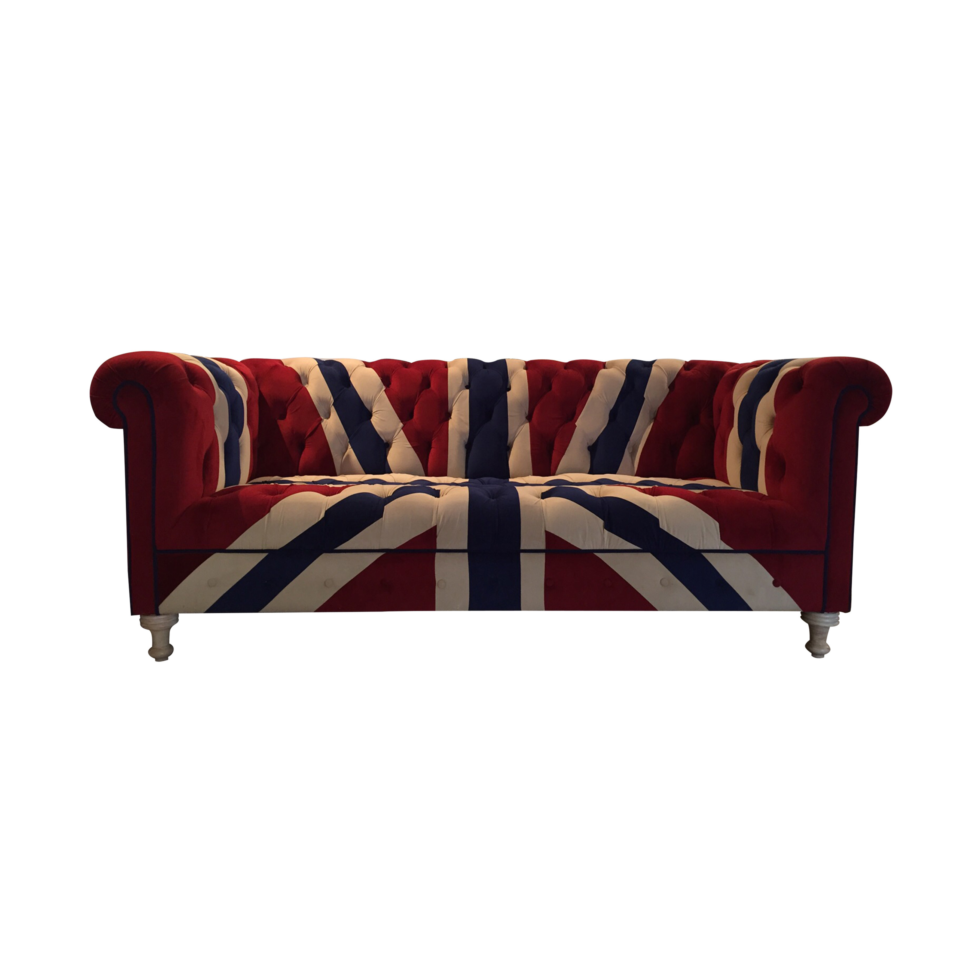 3 Seater Sofa Union Jack Furniture Home Dcor Fortytwo