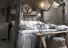 Bedroom with Canopy Bed Ideas
