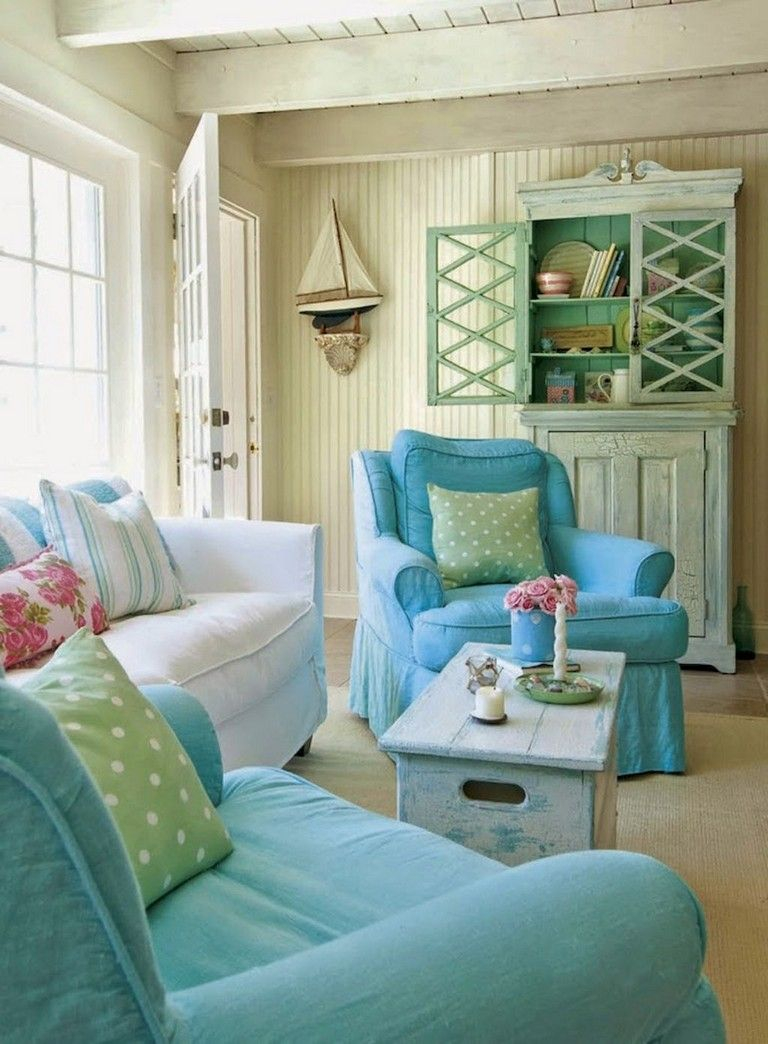 34 Comfortable Chic Farmhouse Living Room Design Ideas Livingroom