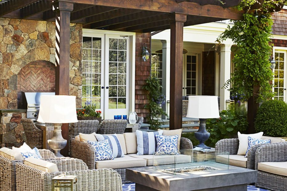 4 Indoor Decorating Moves To Take Outside Porches Patios