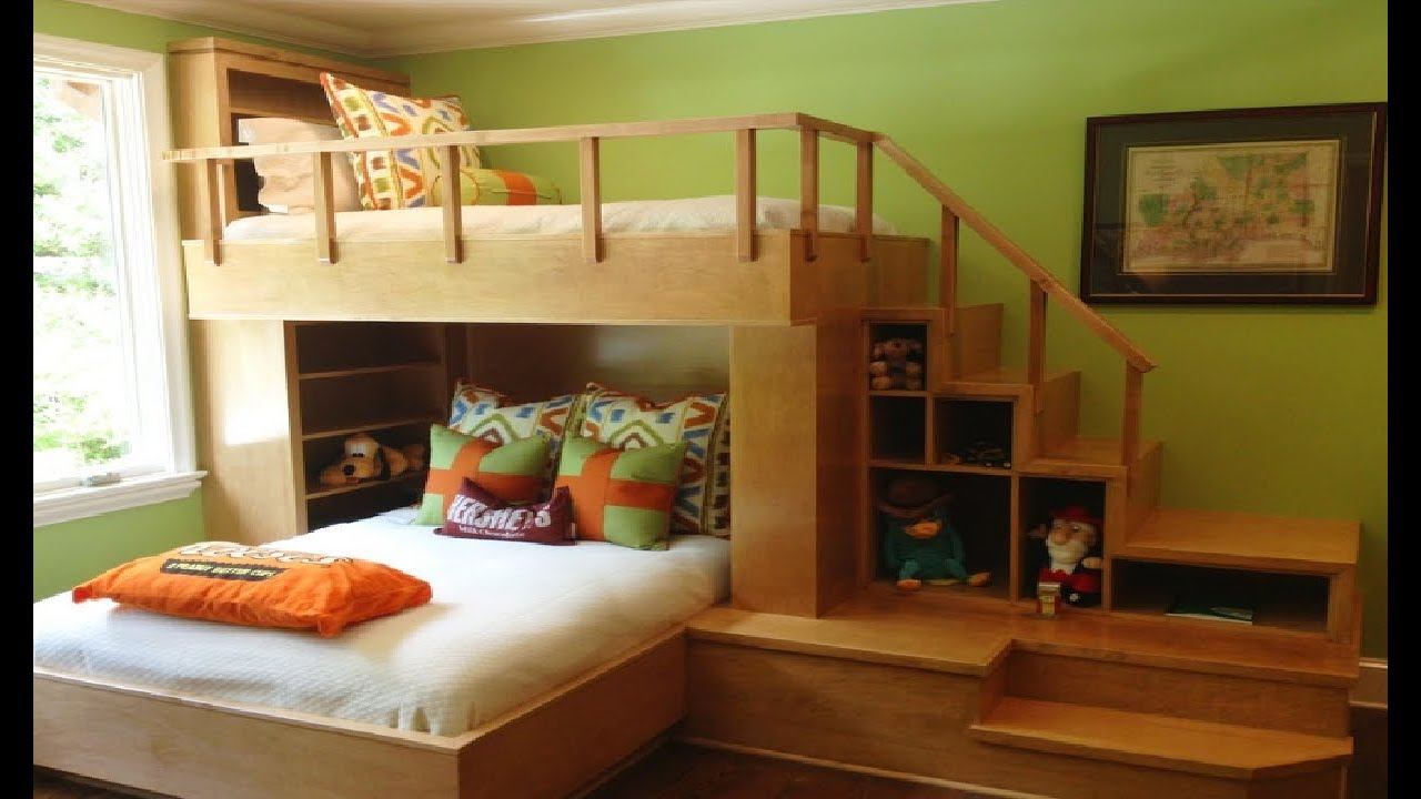Picture of: 40 Fresh Space Saving Bunk Beds Ideas For Your Home Youtube Layjao