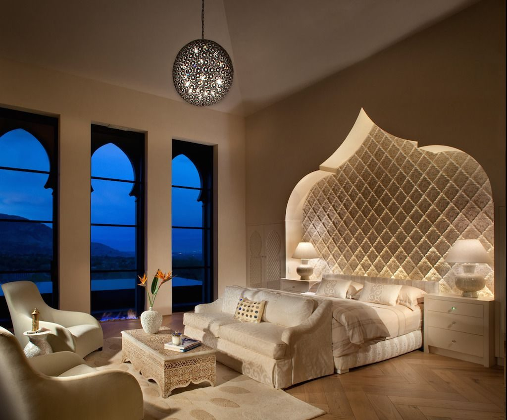 40 Relaxing Moroccan Bedroom Designs Bedroom Mediterranean
