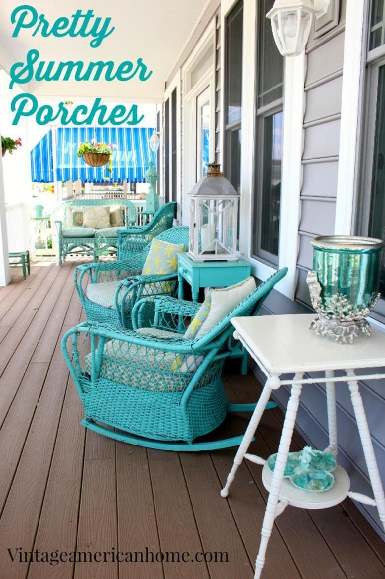 41 Stunning Coastal Outdoor Decorating Ideas