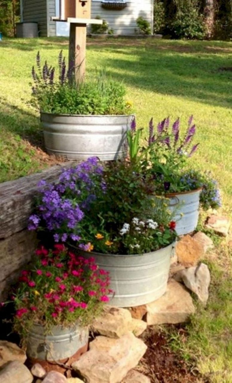 42 Rustic Front Yard Landscaping Ideas Garden Outdoor Garden