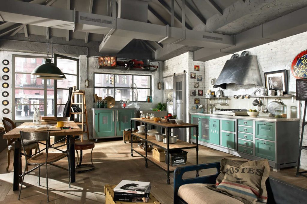 45 Industrial Kitchen Design Ideas