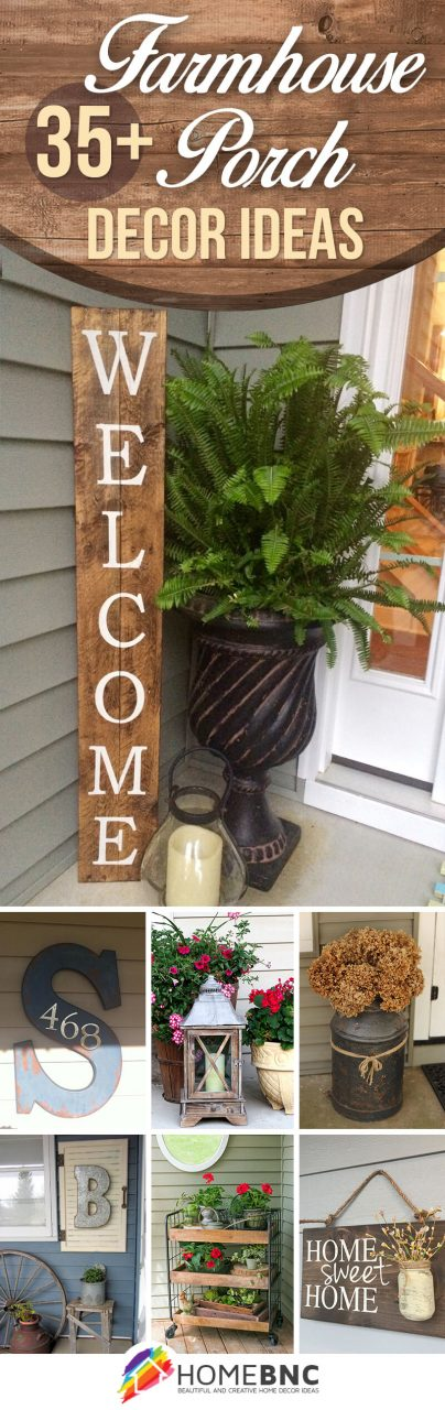 47 Best Rustic Farmhouse Porch Decor Ideas And Designs For 2019