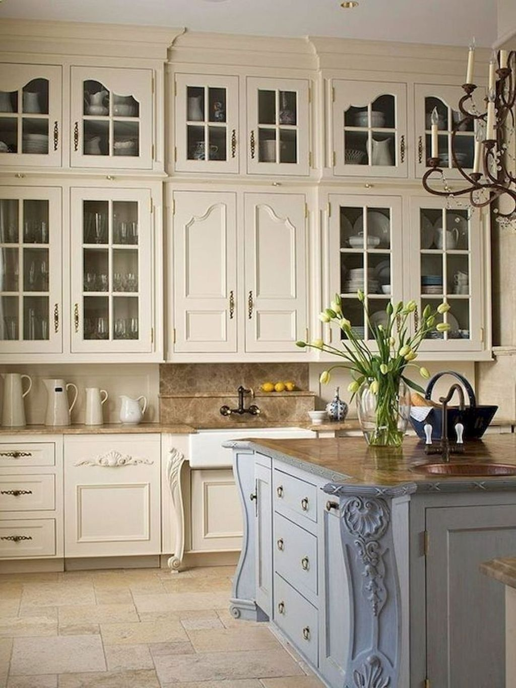 48 The Best French Country Style Kitchen Decor Ideas My New