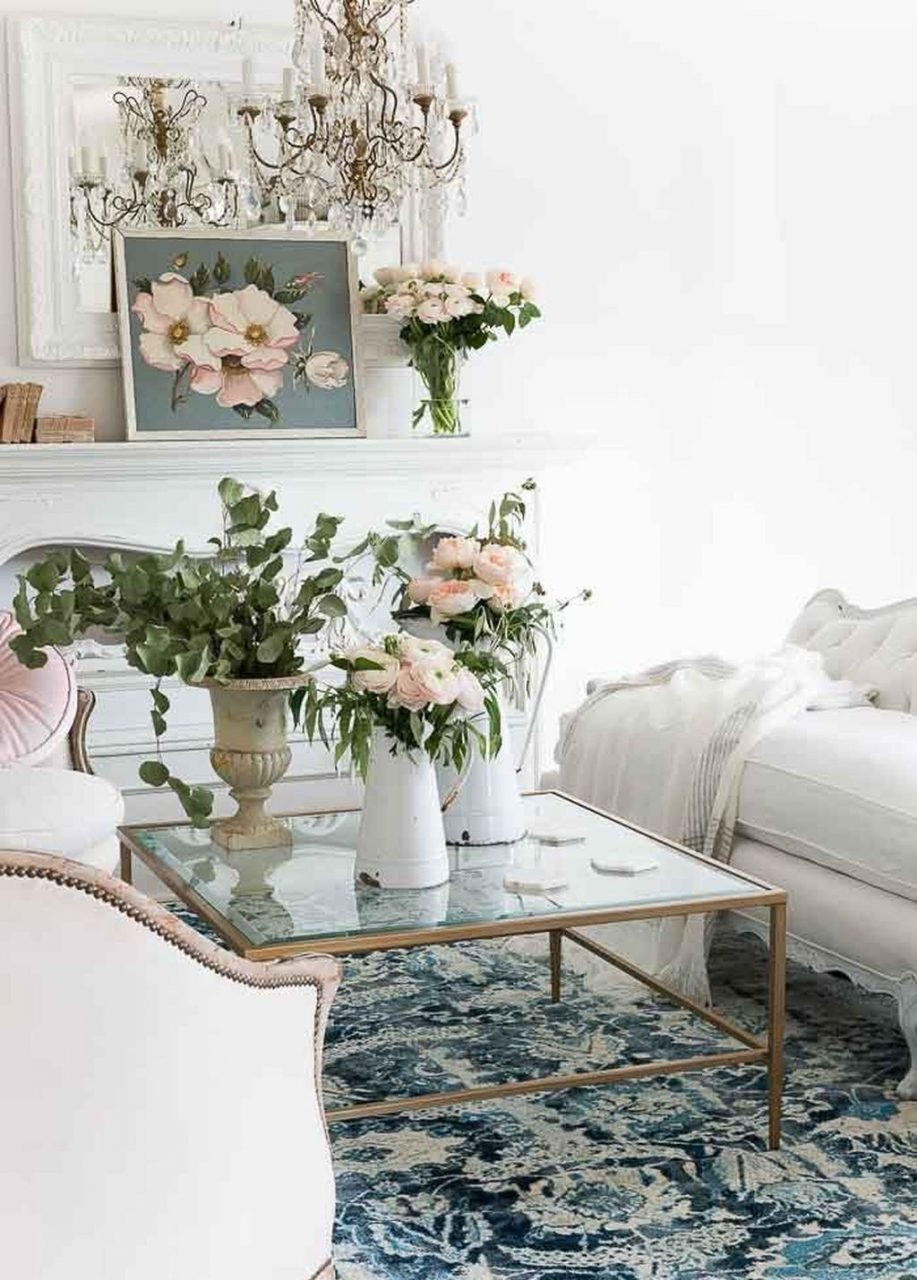 49 Cozy French Country Living Room Decor Ideas Fashion For Home