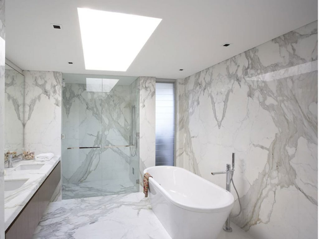 5 Reasons To Use Calacatta Marble Tiles In Your Bathroom Sefa Stone