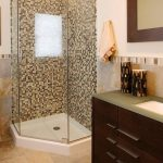 Small Bathroom with Corner Shower Ideas