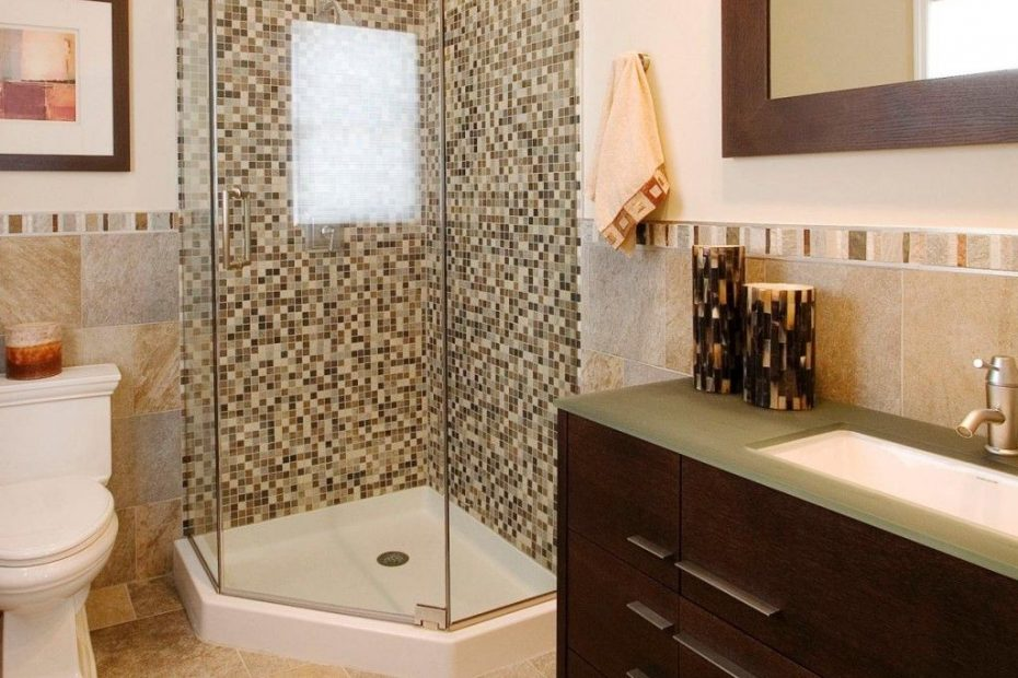 5 Small Bathroom Ideas With Corner Shower Only Anfitrionco For