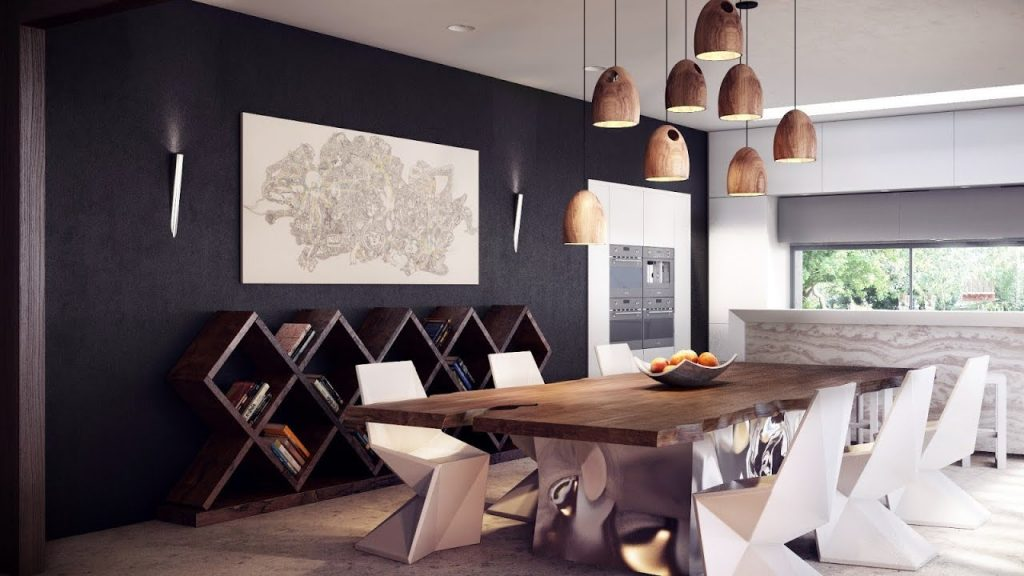 50 Modern Dining Room Decorating Ideas Table Interior Desk Design