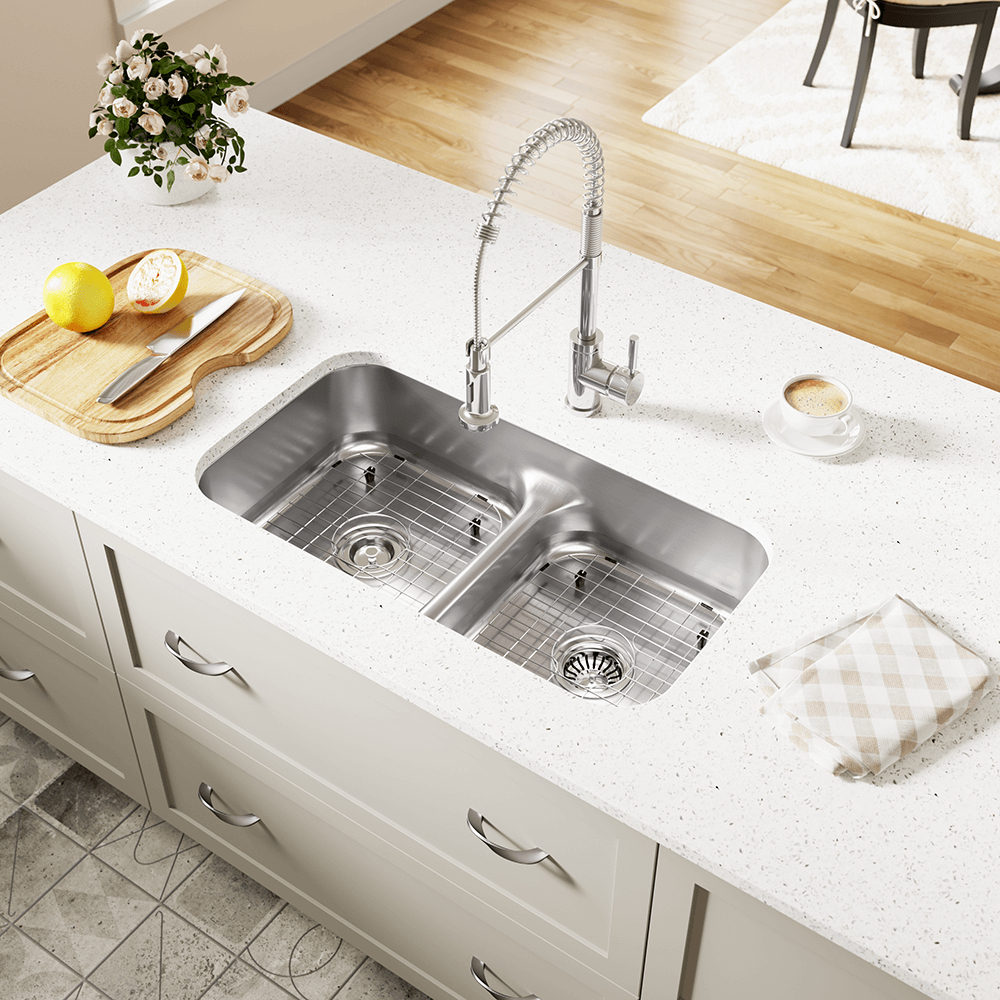 512 Half Divide Stainless Steel Kitchen Sink
