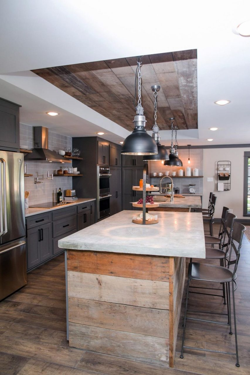 60 Stylish Industrial Kitchen Design Ideas Interior Design