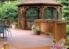 Back Yard Garden with Gazebo