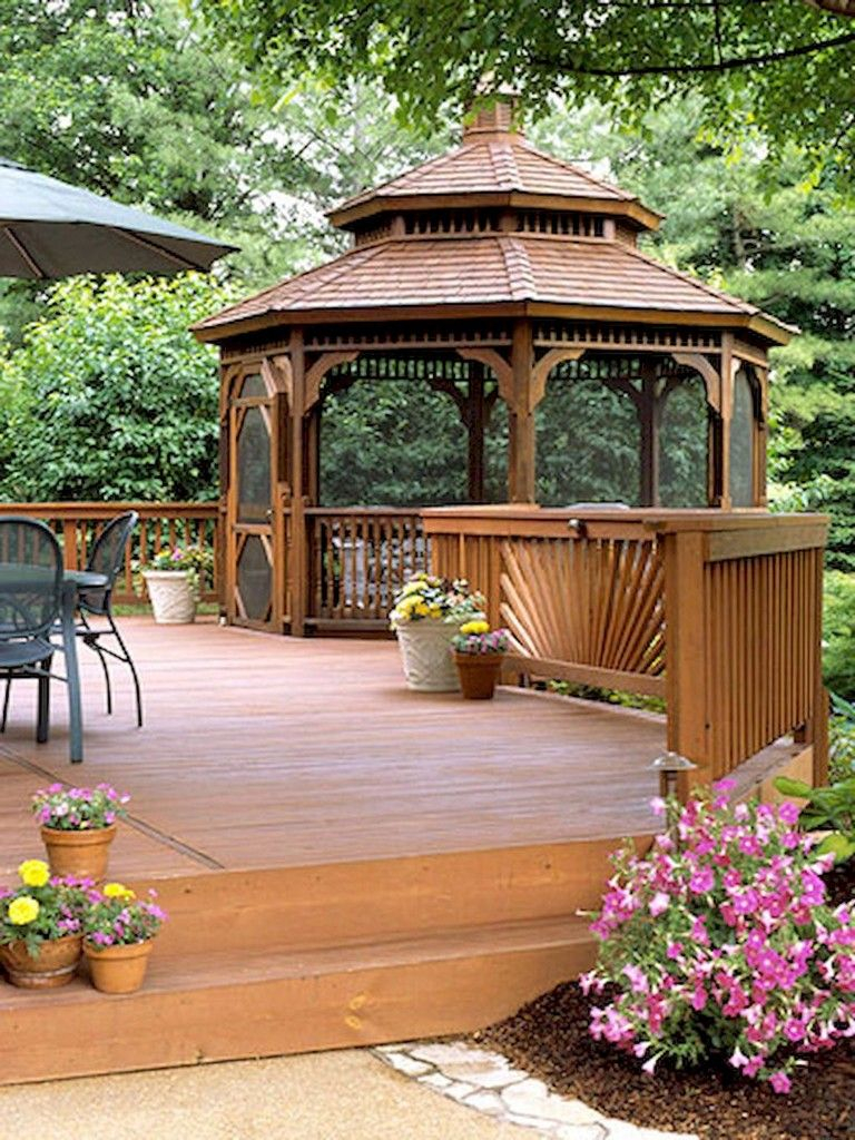 67 Nice Gazebo Backyard Garden Landscaping Design Ideas Garden