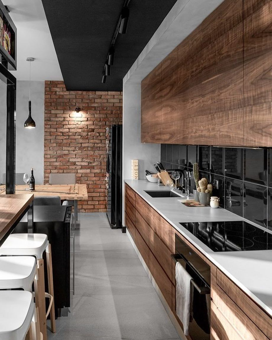 7 Tips To Have The Best Industrial Kitchen Style Apartment Ideas