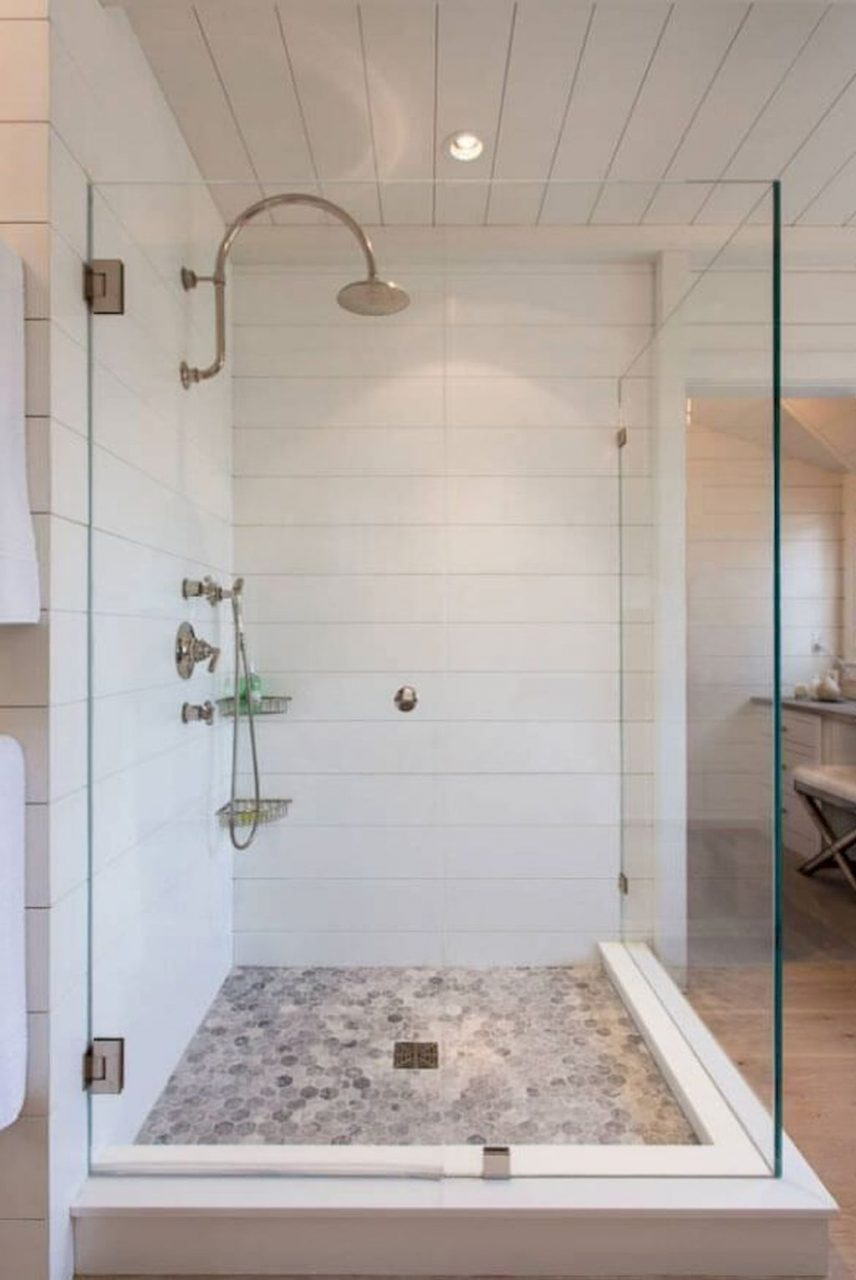 70 Cool Bathroom Shower Tile Remodel Design Ideas
